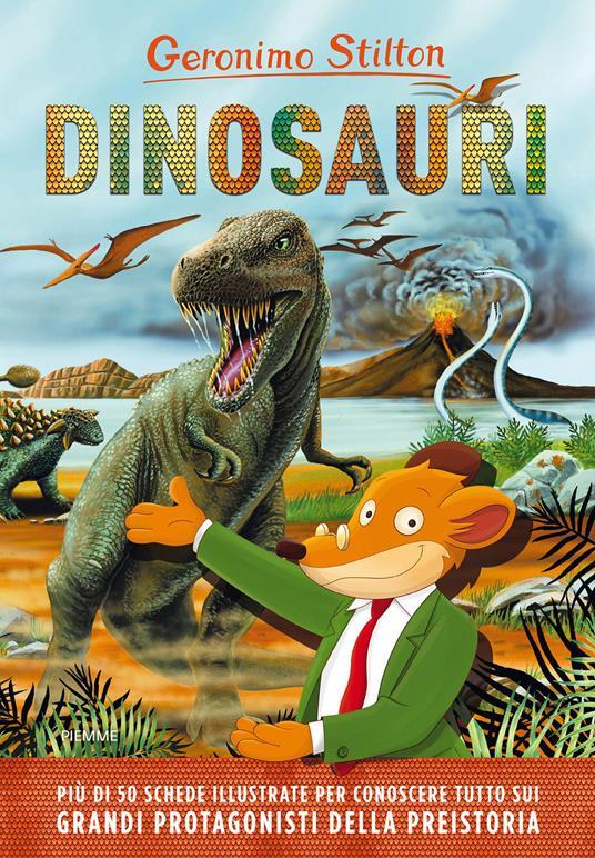 Dinosauri. Ediz. a colori - Geronimo Stilton - copertina