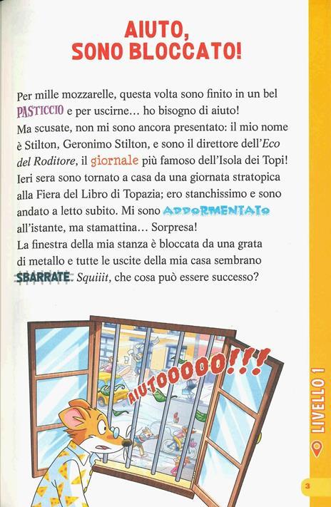 In trappola... dentro casa mia! Escape book - Geronimo Stilton - 2