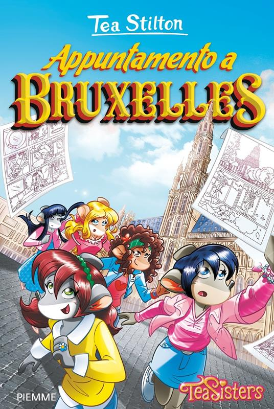 Appuntamento a Bruxelles - Tea Stilton - copertina