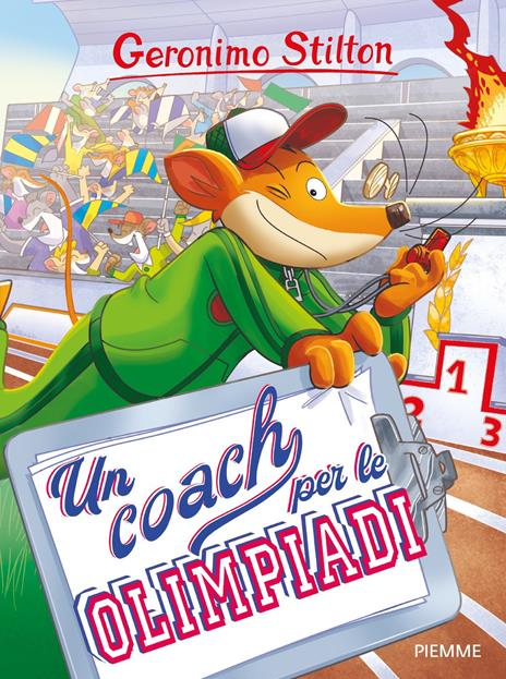 Un coach per le Olimpiadi - Geronimo Stilton - copertina