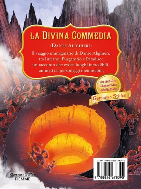 La Divina Commedia di Dante Alighieri - Geronimo Stilton - 2