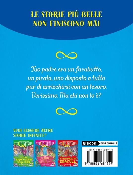 Ritorno all'isola del tesoro. Storie infinite - Pierdomenico Baccalario,Alessandro Gatti - 2