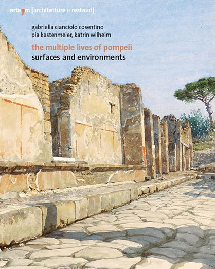 The multiple lives of Pompeii. Surfaces and environments - Gabriella Cianciolo Cosentino,Pia Kastenmeier,Katrin Wilhelm - copertina