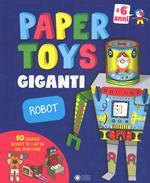 Robot. Paper toys giganti. Con gadget