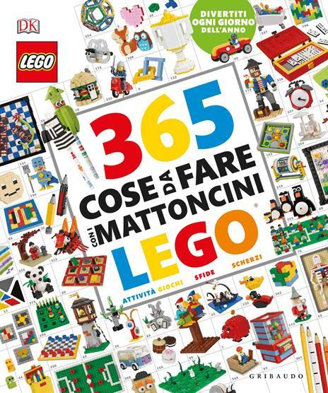 365 cose da fare con i mattoncini Lego. Ediz. a colori - Simon Hugo - copertina
