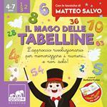 QUID + Il mago delle tabelline. L'approccio rivoluzionario per memorizzare i numeri... e non solo! Ediz. a colori. Con 32 Carte