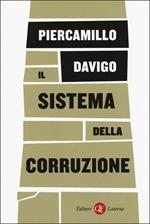 Il sistema della corruzione