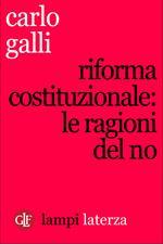 Riforma costituzionale: le ragioni del No
