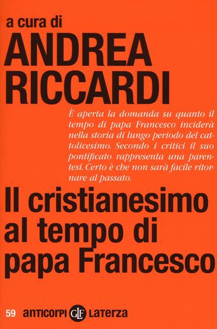 Il cristianesimo al tempo di papa Francesco - copertina