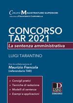 Concorso TAR 2021. La sentenza amministrativa