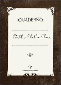 Quaderno della Bella Clara - copertina