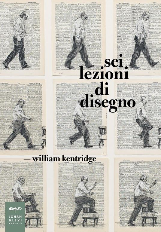 Sei lezioni di disegno - William Kentridge - copertina