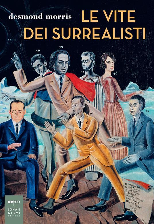 Le vite dei surrealisti - Desmond Morris - copertina