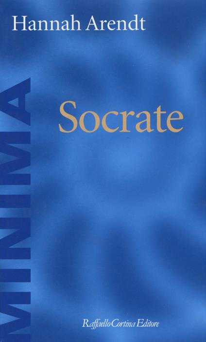 Socrate - Hannah Arendt - copertina