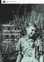 Versi vissuti. Poesie (1975-1990)
