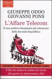 L' affare Telecom - Giuseppe Oddo,Giovanni Pons - copertina