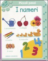 Piccoli passi. I numeri. 24/36 mesi. Ediz. illustrata - copertina