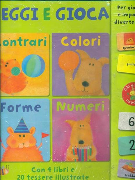 Contrari colori forme numeri. Leggi e gioca. Con gadget - Anton Poitier,Dubravka Kolanovic - 3