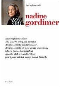 Nadine Gordimer - Laura Giovannelli - copertina