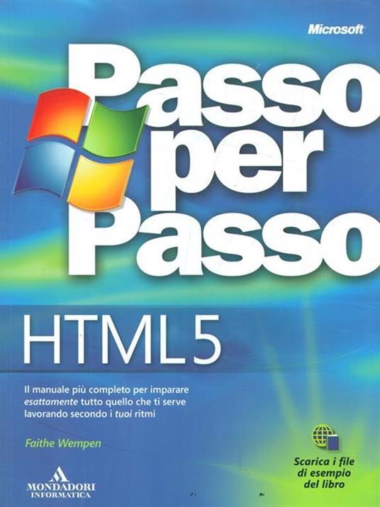 HTML 5. Passo per passo - Faithe Wempen - 2
