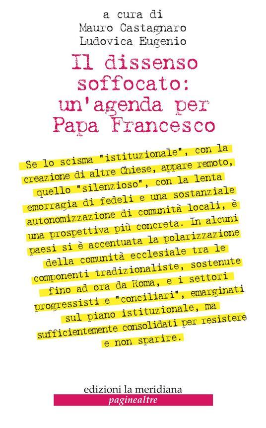 Il dissenso soffocato: un'agenda per papa Francesco - copertina