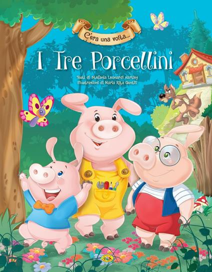 I tre porcellini - copertina