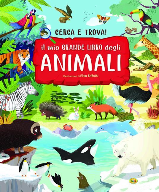 Il mio grande libro degli animali - copertina