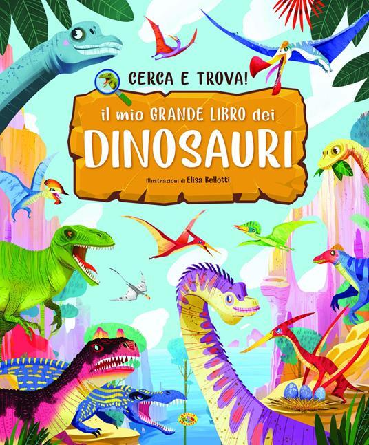 Il mio grande libro dei dinosauri - copertina