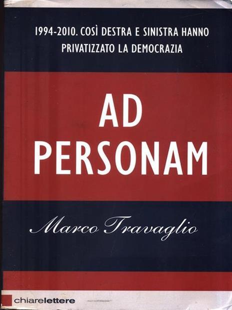 Ad personam - Marco Travaglio - 3