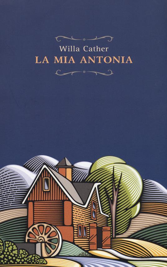 La mia Antonia - Willa Cather - copertina
