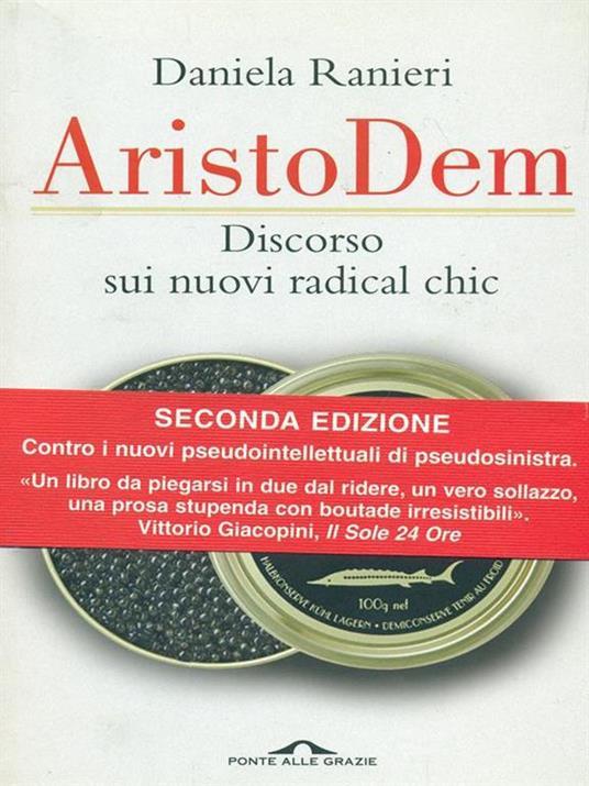 AristoDem. Discorso sui nuovi radical chic - Daniela Ranieri - copertina