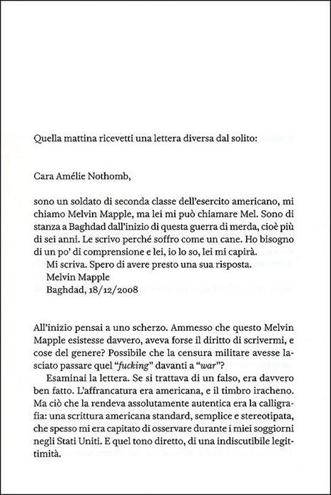 Una forma di vita - Amélie Nothomb - 2