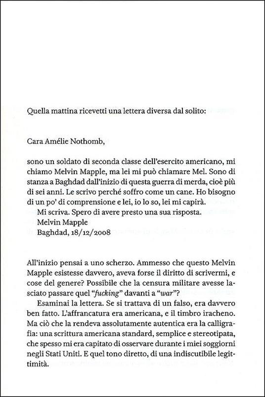 Una forma di vita - Amélie Nothomb - 4