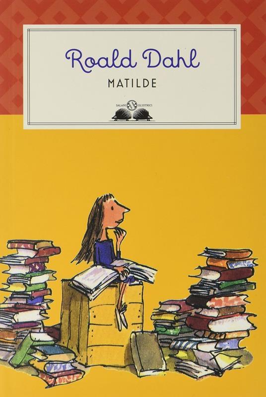 Matilde - Roald Dahl - copertina