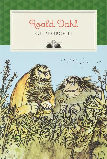 Gli sporcelli - Roald Dahl - copertina