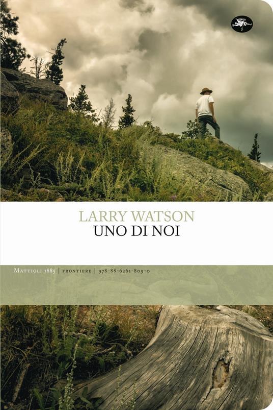 Uno di noi - Larry Watson - copertina