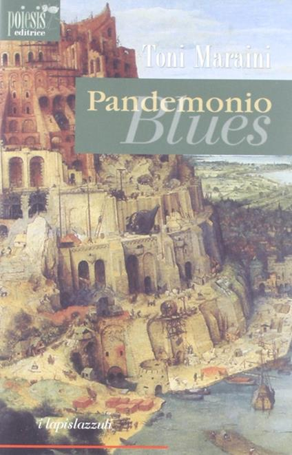 Pandemonio Blues - Toni Maraini - copertina
