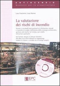 La valutazione dei rischi di incendio - Luca Fiorentini,Luca Marmo - copertina
