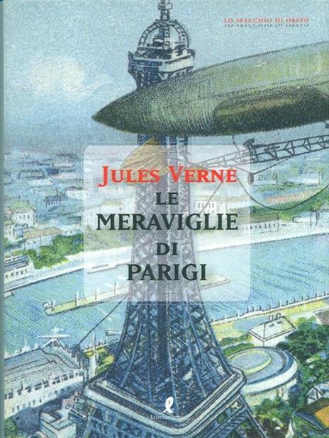 Le meraviglie di Parigi - Jules Verne - copertina