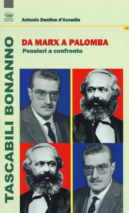 Da Marx a Palomba. Pensieri a confronto - Antonio Dentice D'Accadia - copertina