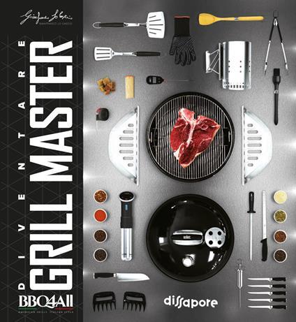 Diventare grill master - Gianfranco Lo Cascio - copertina