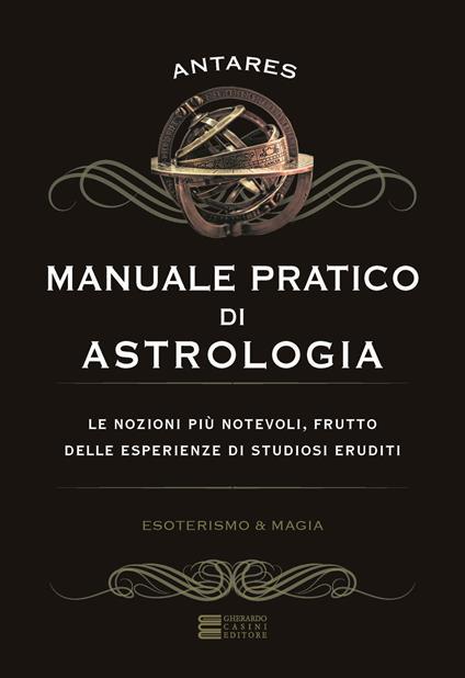 Manuale pratico di astrologia - Antarès - copertina