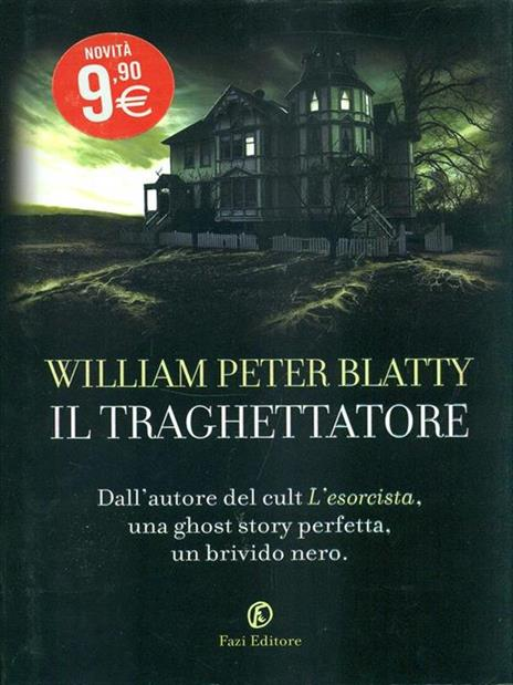 Il traghettatore - William Peter Blatty - copertina