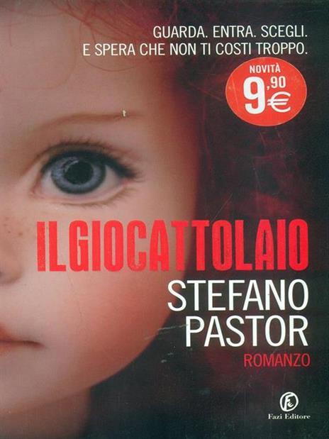 Il giocattolaio - Stefano Pastor - copertina