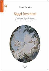 Saggi inventati - Enrico De Vivo - copertina