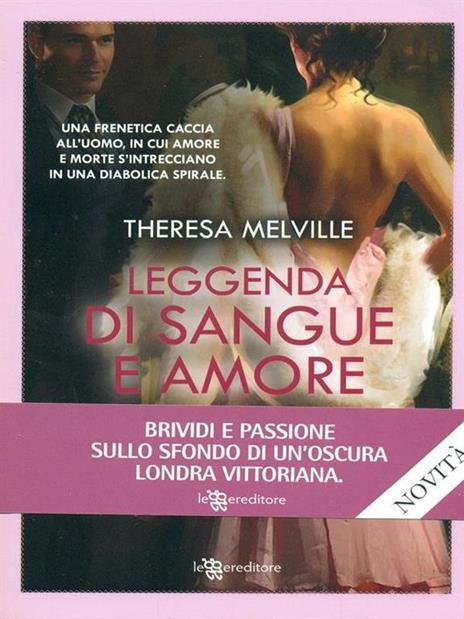 Leggenda di sangue e amore - Theresa Melville - copertina