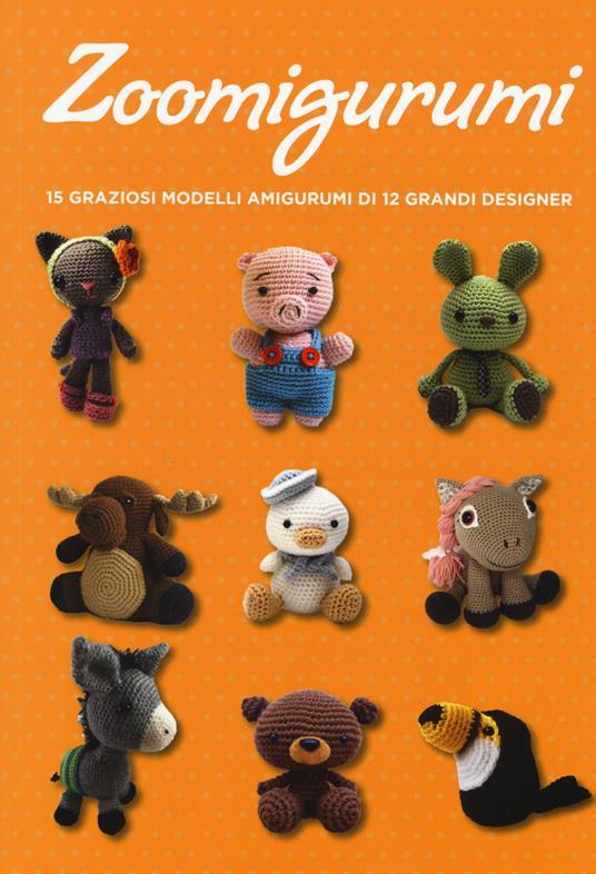 Zoomigurumi. 15 graziosi modelli amigurumi di 12 grandi designer - copertina
