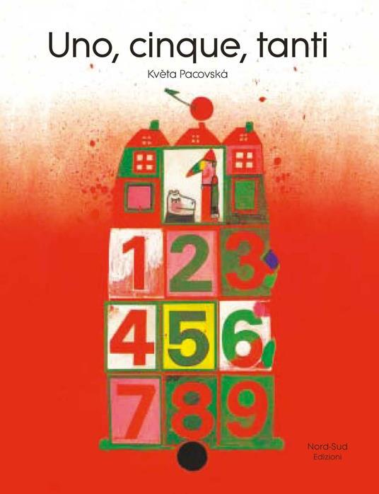 Uno, cinque, tanti - Kveta Pacovska - copertina