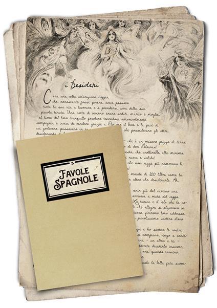 Favole spagnole - Fernán Caballero - copertina