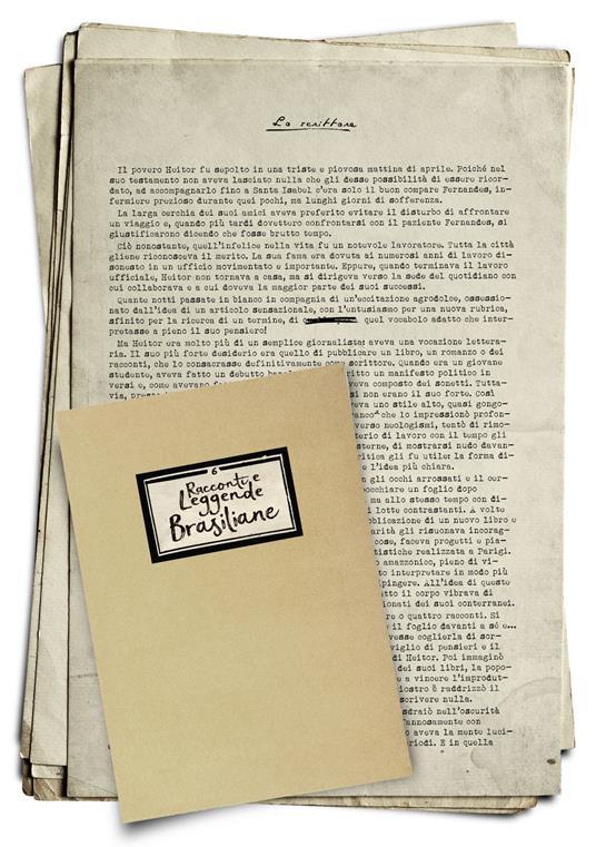 Racconti e leggende brasiliane - João Marques de Carvalho - copertina